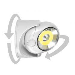 LED Λάμπα Τοίχου 5 W με Ανιχνευτή Κίνησης SPM 40000075