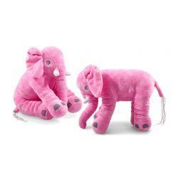Μαξιλάρι Ελέφαντας Χρώματος Ροζ Large VL3617