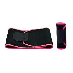 Ζώνη Αδυνατίσματος και Εφίδρωσης Χρώματος Ροζ SPM DB3717