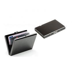 Ατσάλινη Θήκη Για Κάρτες Χρώματος Μαύρο SPM DB4691