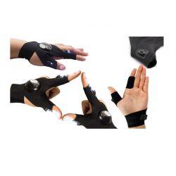 Γάντι Δύο Δακτύλων με Δύο Φακούς LED Αριστερό SPM DB4988