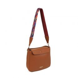 Γυναικεία Τσάντα Ώμου Χρώματος Καφέ Beverly Hills Polo Club 777 650BHP0642