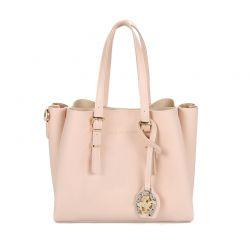 Γυναικεία Τσάντα Χειρός Χρώματος Ροζ Beverly Hills Polo Club 602 657BHP05556