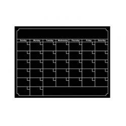 Μαγνητικό Ημερολόγιο Ψυγείου SPM FridgePlanCal-BLACK