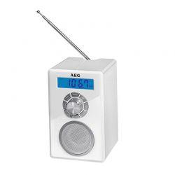 Ραδιορολόι - Ξυπνητήρι με Bluetooth AEG Χρώματος Λευκό MR4139