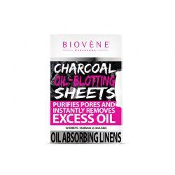 Επιθέματα Καθαρισμού Προσώπου με Ενεργό Άνθρακα 50 τμχ Biovene BV-COS