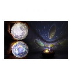 Φωτιστικό Νυκτός - Προβολέας Φεγγάρι Globrite DB3029