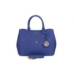 Γυναικεία Τσάντα Χειρός Χρώματος Μπλε Beverly Hills Polo Club 589 657BHP0520