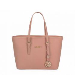 Γυναικεία Τσάντα Χειρός Χρώματος Ροζ Beverly Hills Polo Club 562 650BHP0766