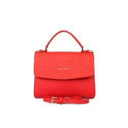 Γυναικεία Τσάντα Χειρός με Αποσπώμενο Λουράκι Χρώματος Κόκκινο Laura Ashley Lisson 663LAS0101