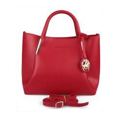 Γυναικεία Τσάντα Χειρός Χρώματος Κόκκινο Beverly Hills Polo Club 701 657BHP0605