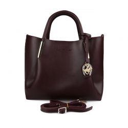 Γυναικεία Τσάντα Χειρός Χρώματος Μπορντό Beverly Hills Polo Club 701 657BHP0601