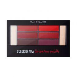 Παλέτα Χειλιών Maybelline Color Drama Lip Contour Palette 01 Crimson Vixen 4 gr Maybelline-CDLCPAL