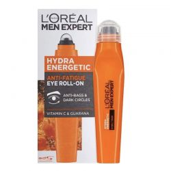 Men Expert Hydra Energetic Eye Roll-On L'Oreal 10ml