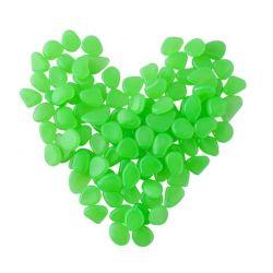 Διακοσμητικές Πέτρες που Λάμπουν στο Σκοτάδι Χρώματος Πράσινο 100 τμχ SPM 5186