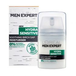 Ενυδατική Κρέμα Men Expert Hydra Sensitive Moisturiser L'Oreal 50 ml LOREAL-MEHSCreme