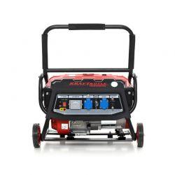 Φορητή Τριφασική Ηλεκτρογεννήτρια Βενζίνης 3000 W 12/230V Kraft&Dele KD-138