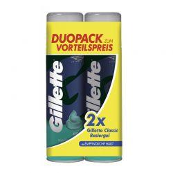 Gel Ξυρίσματος Gillette Rasiergel Series Sensitive 2 x 200 ml Gillette-Gel-Sens