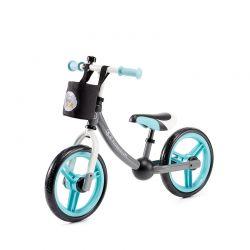 Παιδικό Ποδήλατο Ισορροπίας Με Αξεσουάρ KinderKraft 2Way Next Χρώματος Τιρκουάζ