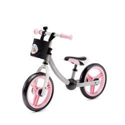 Παιδικό Ποδήλατο Ισορροπίας Με Αξεσουάρ KinderKraft 2Way Next Χρώματος Ροζ