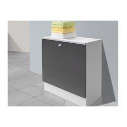 Ντουλάπι Απλύτων 60 x 26.5 x 53 cm Χρώματος Γκρι SPM 30090046