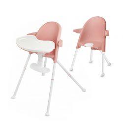Παιδικό Κάθισμα Φαγητού 2 σε 1 με Πτυσσόμενη Λειτουργία Χρώματος Ροζ KinderKraft PINI