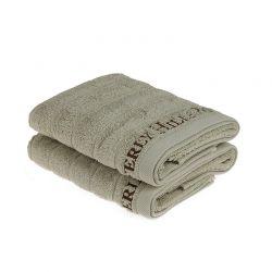 Σετ με 2 Πετσέτες Προσώπου 50 x 90 cm Χρώματος Πράσινο Beverly Hills Polo Club 355BHP2243