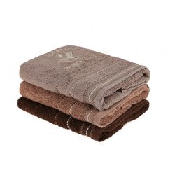 Σετ με 3 Πετσέτες Προσώπου 50 x 90 cm Beverly Hills Polo Club 355BHP2275