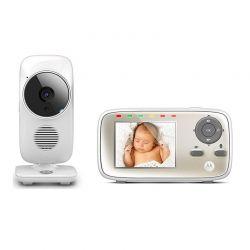 """Συσκευή Παρακολούθησης Μωρού με Έγχρωμη Οθόνη 2.8"""" Motorola MBP483"""