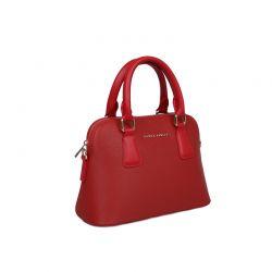 Γυναικεία Τσάντα Χειρός με 2 Λαβές Χρώματος Κόκκινο Laura Ashley Charlton 651LAS1658