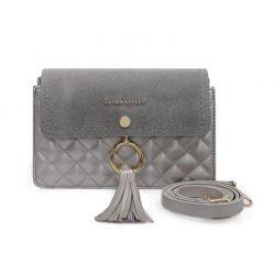 Γυναικεία Τσάντα Ώμου Χρώματος Γκρι Laura Ashley Monza 651LAS1535
