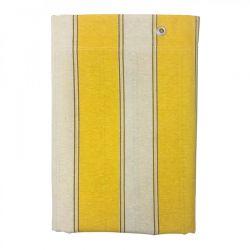 Τέντα με Ενισχυμένους Δακτυλίους 145 x 290 cm Χρώματος Κίτρινο MWS15968