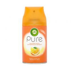 Ανταλλακτικό Αρωματικό Σπρέι Χώρου Freshmatic Pure Mediterranean Sun Airwick 250 ml Airwick_MedSun
