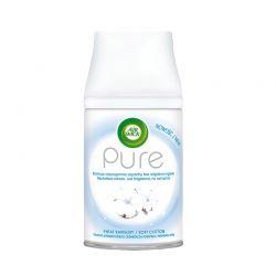 Ανταλλακτικό Αρωματικό Σπρέι Χώρου Freshmatic Pure Soft Cotton Airwick 250 ml Airwick_SoftCotton