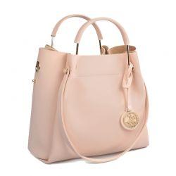 Γυναικεία Τσάντα Χειρός Χρώματος Ροζ Beverly Hills Polo Club 396 657BHP0576