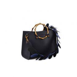 Γυναικεία Τσάντα Χειρός με Λουράκι Χρώματος Navy Laura Ashley Tisbury 651LAS0920