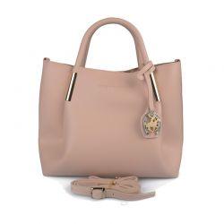 Γυναικεία Τσάντα Χειρός Χρώματος Ροζ Beverly Hills Polo Club 701 657BHP0610