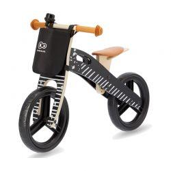 Παιδικό Ξύλινο Ποδήλατο Ισορροπίας Με Αξεσουάρ Χρώματος Μαύρο KinderKraft Runner Galaxy