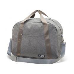 Τσάντα Ταξιδιού 43 x 33 x 17.5 cm Χρώματος Γκρι SPM DB5379