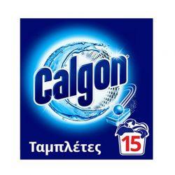 Αποσκληρυντικό Νερού Πλυντηρίου Ρούχων Calgon 15 Ταμπλέτες CLGN-15