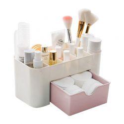 Κουτί Αποθήκευσης Καλλυντικών Χρώματος Ροζ SPM DB5328