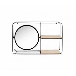 Ραφιέρα Τοίχου με Καθρέπτη 58 x 36 x 15 cm Lucy Lifa-Living 8719743325692