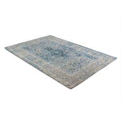 Χαλί 160 x 230 cm Χωρίς Πέλος Medaillon Χρώματος Μπλε - Γκρι Lifa-Living 8719831795321