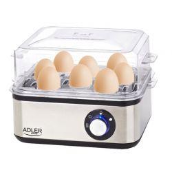 Ηλεκτρικός Βραστήρας Αυγών 8 Θέσεων 800 W Adler AD-4486