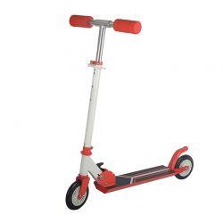 Αναδιπλούμενο Παιδικό Δίτροχο Πατίνι Scooter Χρώματος Κόκκινο GEM BN2016