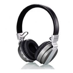 Ασύρματα Ακουστικά Bluetooth Headphones Χρώματος Γκρι SoundZ R165143