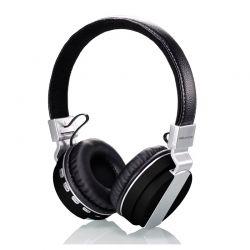 Ασύρματα Ακουστικά Bluetooth Headphones Χρώματος Μαύρο SoundZ R165139