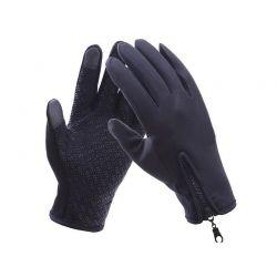 Γάντια Ποδηλάτου για Οθόνη Αφής Touch Screen Gloves Χρώματος Μαύρο Medium SPM DB4837