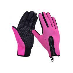 Γάντια Ποδηλάτου για Οθόνη Αφής Touch Screen Gloves Χρώματος Ροζ Small SPM DB4842