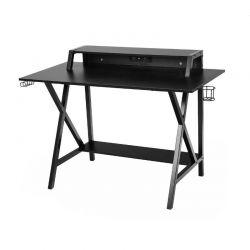 Μεταλλικό Γραφείο για Gaming με USB 97 x 58 x 90 cm Hoppline HOP1000913-1